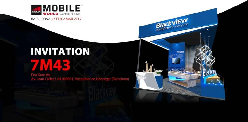Blackview España estará presente en su stand 7M43 en la feria Mobile World Congress de Barcelona