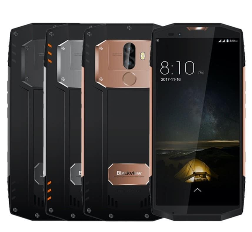 Blackview BV 9000 el mejor móvil rugerizado con pantalla de 5,7 pulgadas y formato 18:9. Lo más avanzado en móviles resistentes, disponible ya en nuestra tienda. Asegurate que no rompes tu pantalla con móviles resistentes e IP68. Esperamos tu pedido!