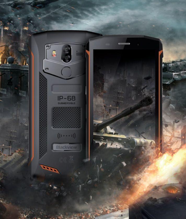 Blackview presentará en la feria MWC 2018 en Barcelona como principal reclamo el nuevo Blackview BV5800 Pro, que promete no dejar indiferente a nadie con sus excelentes prestaciones, la gran capacidad de su batería, y sobre todo su carga inalámbrica!