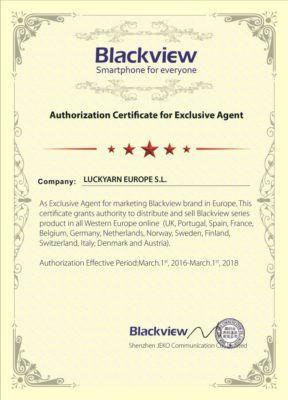 Luckyarn se convierte en distribuidor exclusivo online de la marca Blackview para España y Portugal